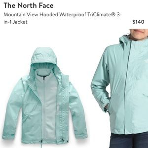 BRAND NEW Girls Northface Triclimate Jacket